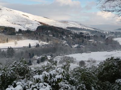 View of Snowy Strathblane